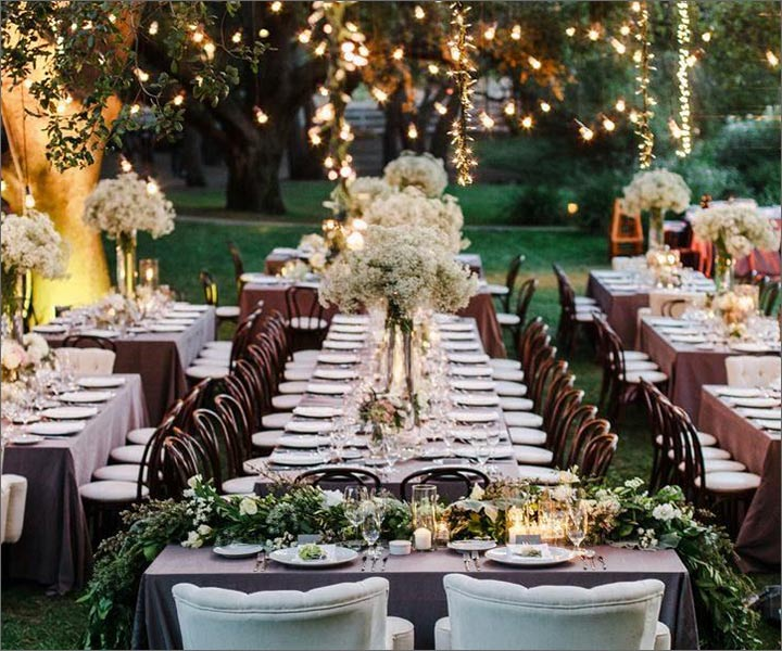 13 lush spring wedding decorations to bring to life your classic spring wedding seating junglespirit Choice Image