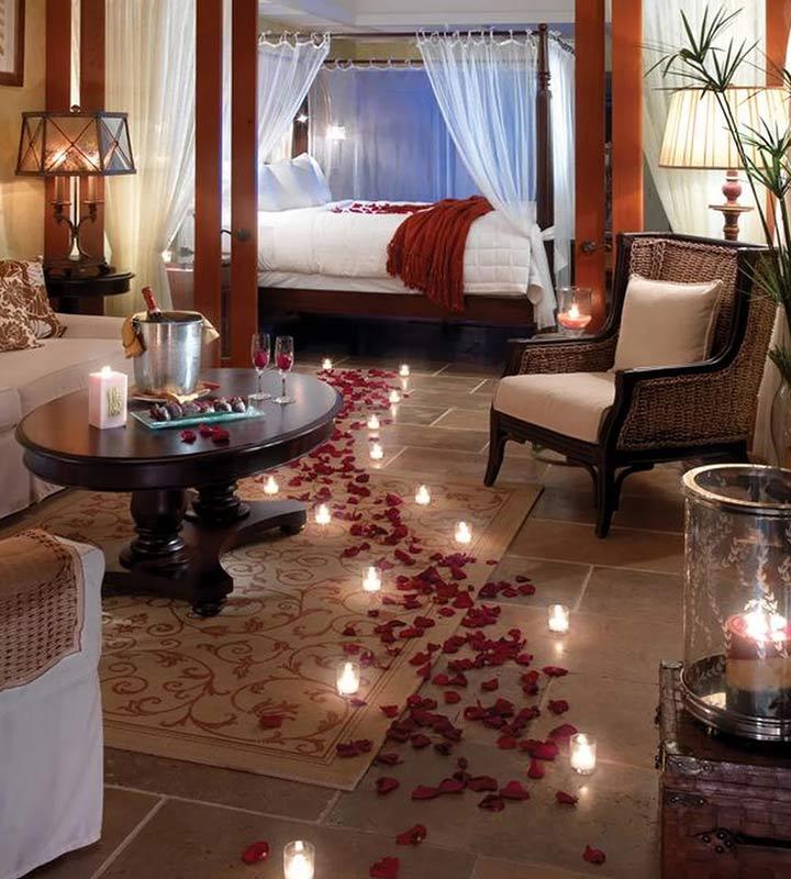 Wedding Night Decoration - Cutely Lit Flower Carpet