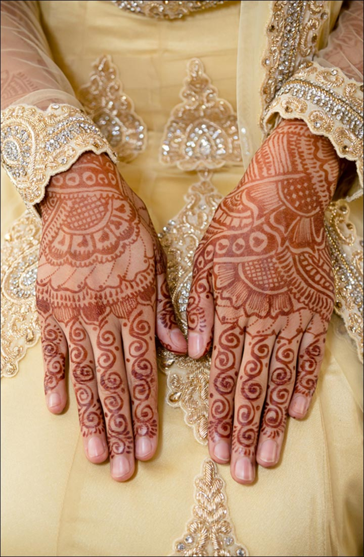 The Islamic Bridal Latest Mehndi Designs 2016