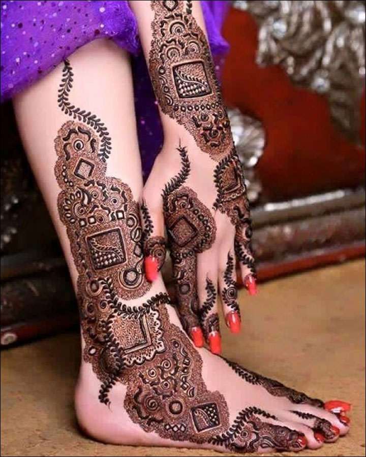 Latest Mehndi Designs 2016 - 2017: Top 47 Mehndi Styles