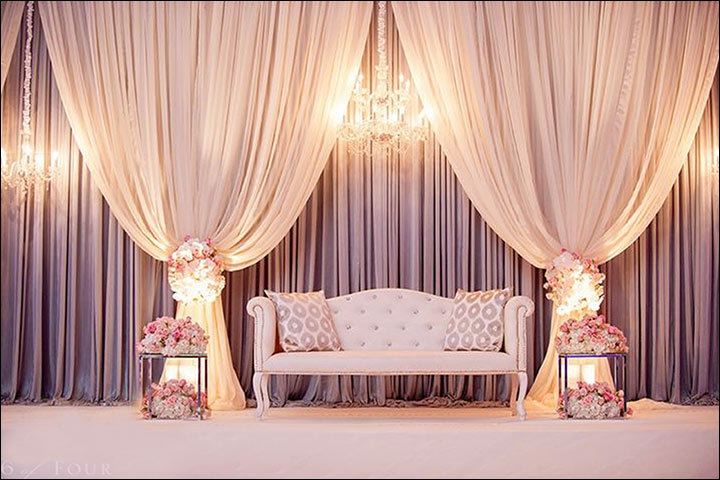 indian wedding stage decoration ideas 9 ideas that 39 ll inspire. Black Bedroom Furniture Sets. Home Design Ideas
