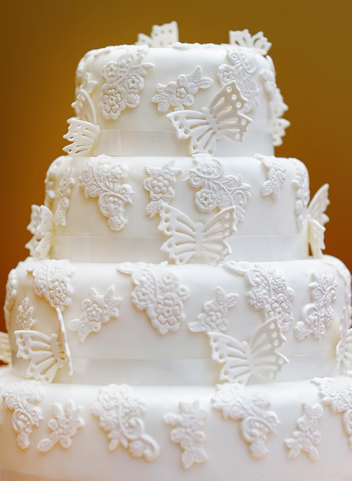 Butterfly Wedding Cake Designs Pictures