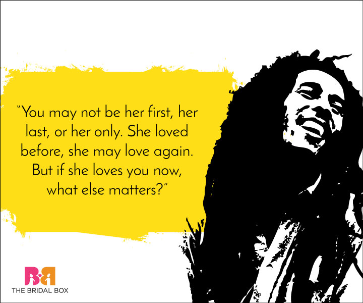Bob Marley love quotes - 7