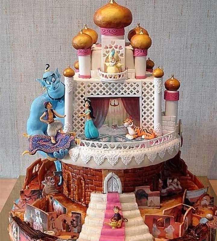 14 Lip-Smacking Ideas For Wedding Cake Designs