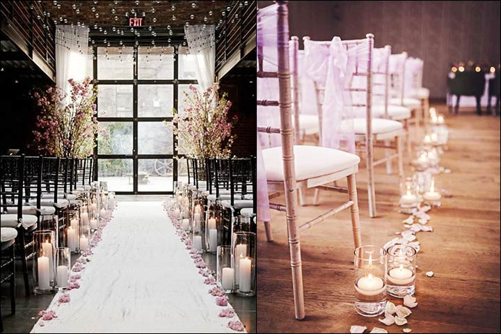 glass-vases-with-candles-aisle-decorations
