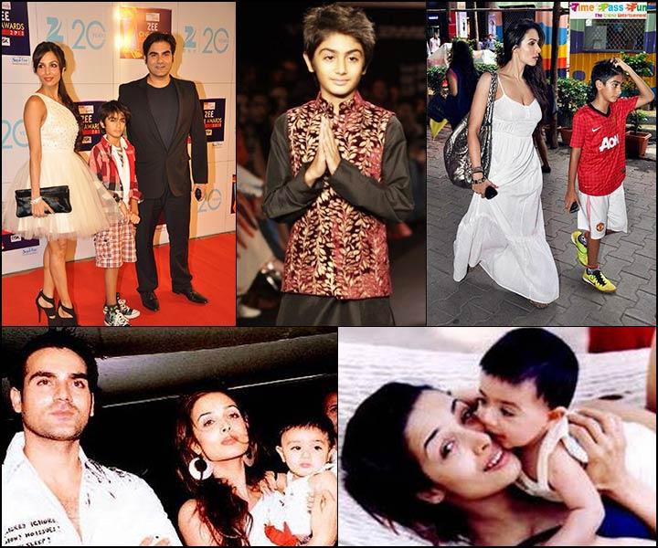 mallika-arora-and-arbaz-khan-with-there-son