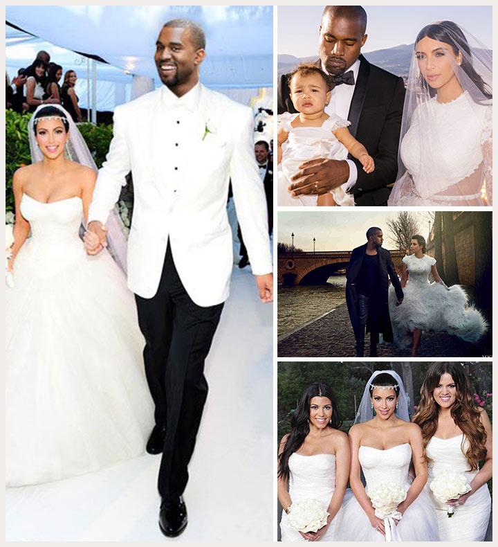 Kanye Wedding: A-Listers In Love. Starring Kim Kardashian And Kanye West