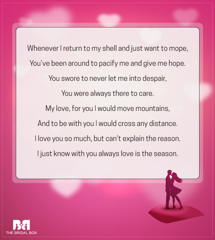 Why I Love You Poems - 3