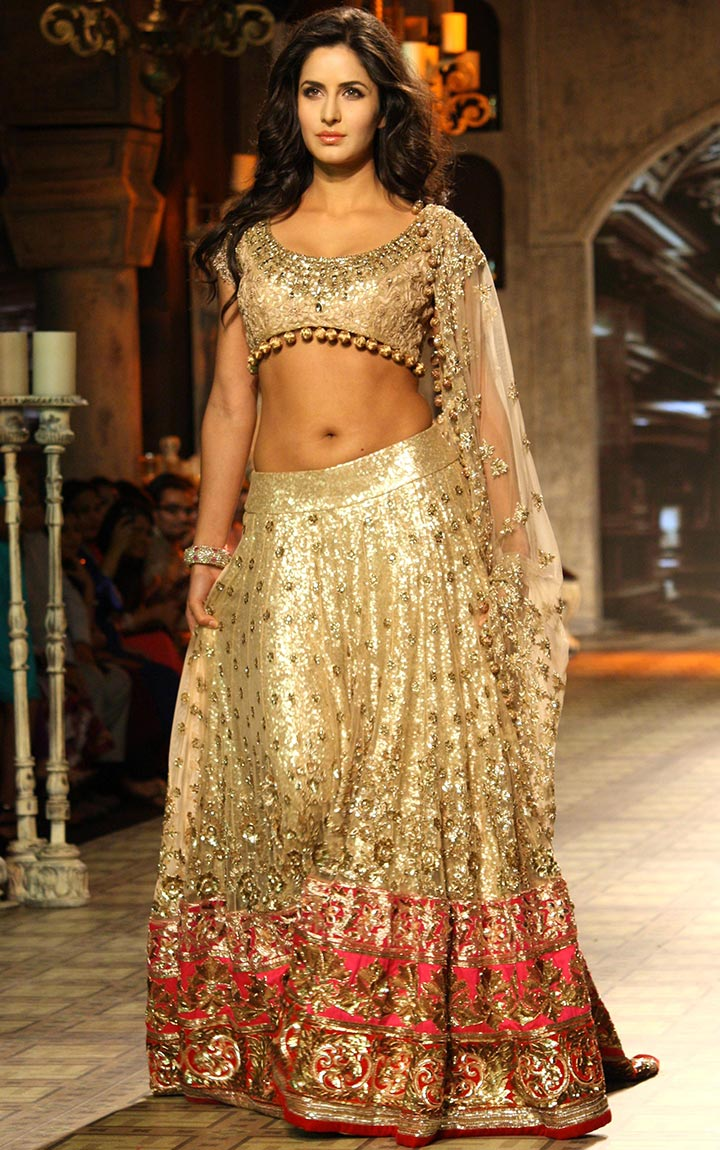 Golden-Bollywood-Bridal-Lehenga