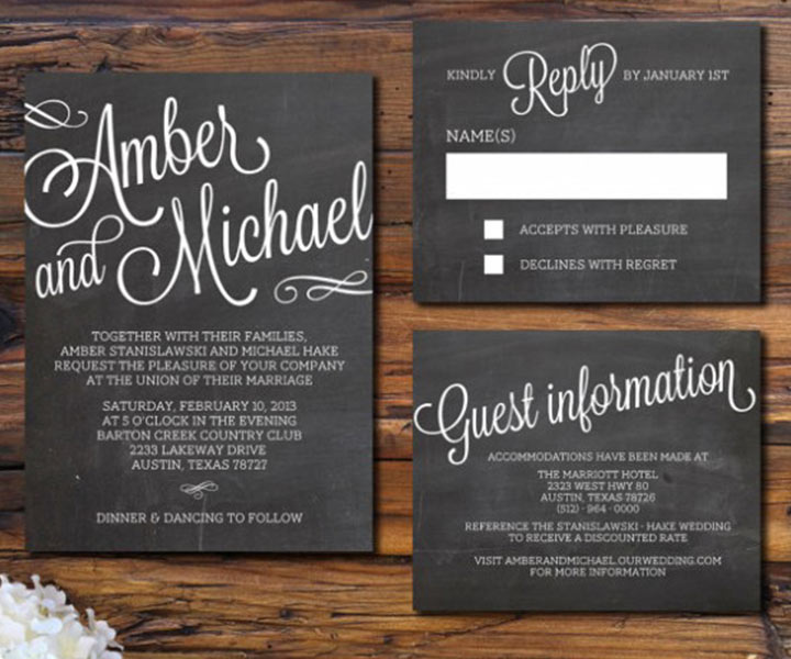 10 Tips On What To Include In Wedding Invitation Details