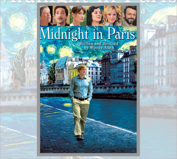 Best Love Story Movies - Midnight in Paris