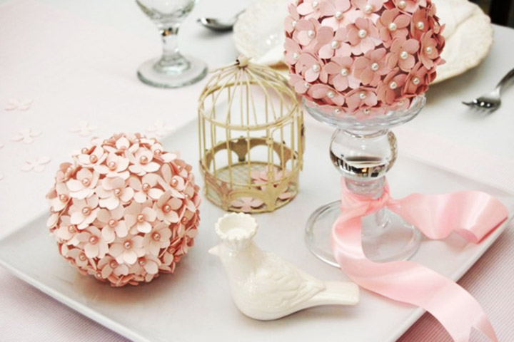 How to make paper flowers for wedding 5 stunning diy ideas paper flower balls mightylinksfo