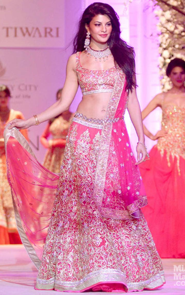 Pink-Bollywood-Bridal-Lehenga