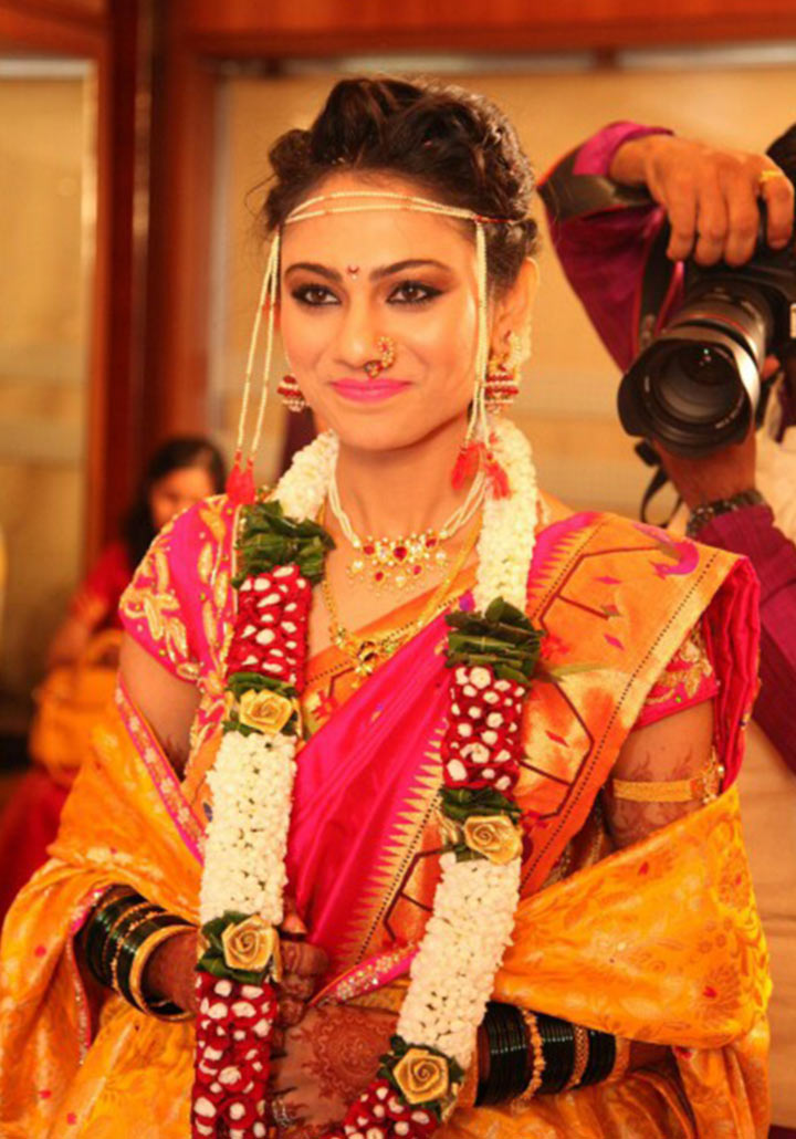 Traditional Wedding Dressup And Makeup : Maharashtrian Bridal Makeup:Get The Perfect Look In 10 ...