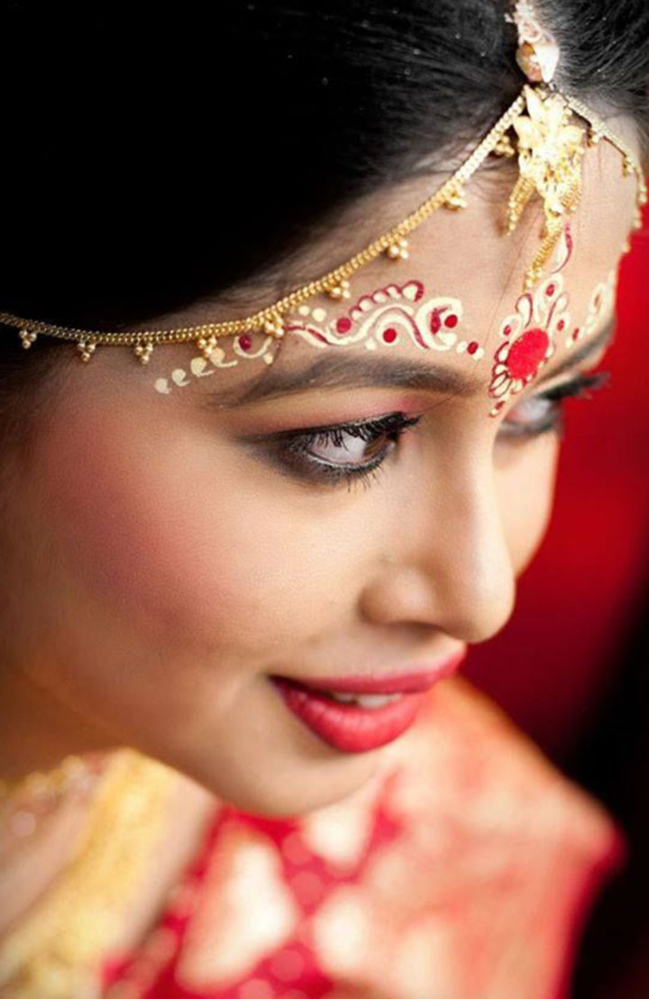 Bengali Bridal Makeup Art For The Blushing Bengali Bride
