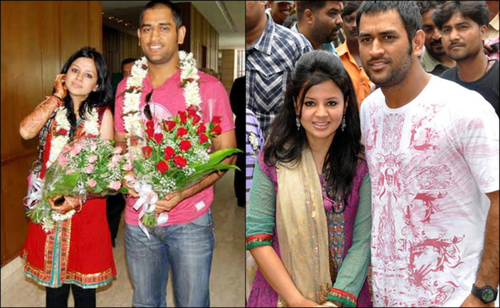 Post Marriage Pictures -Dhoni With Sakshi