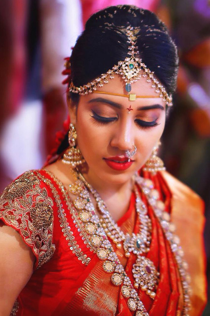Bridal Makeup Online : South Indian Bridal Bindi www.imgarcade.com - Online ...