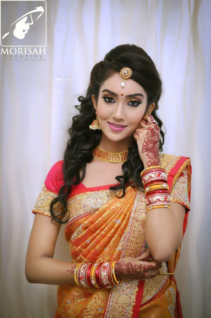 South Indian Bridal Makeup: 30 Bridal Makeup Ideas ...