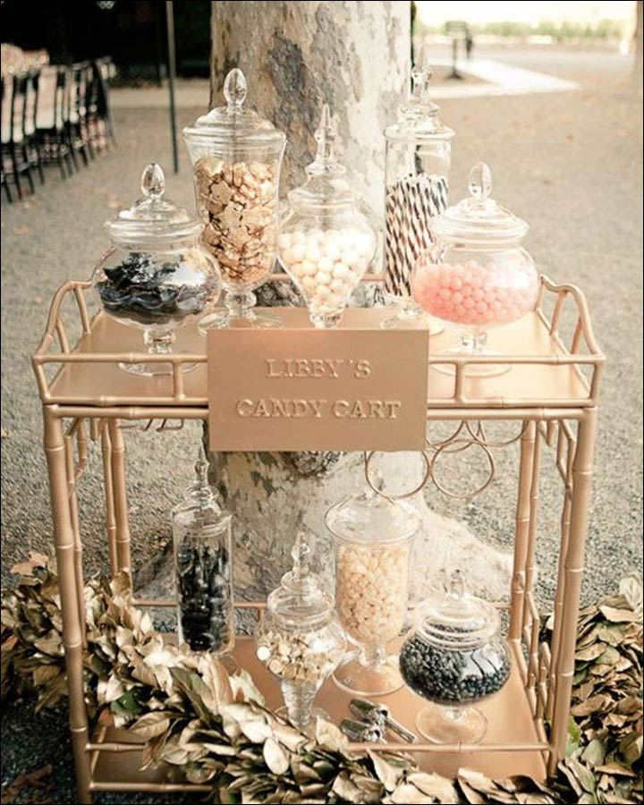 Candy-Cart-Wedding-Shower-Decoration