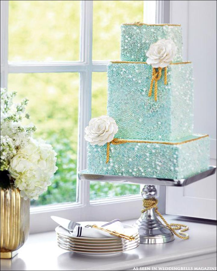 Square wedding cakes to choose from for your big day square wedding cakes the glam cake junglespirit Gallery