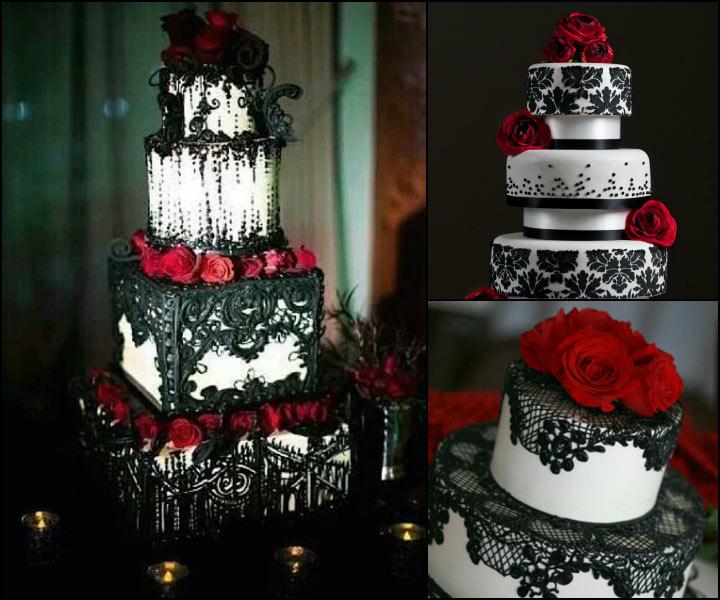 Chocolate Wedding Cake - Hidden Darkness