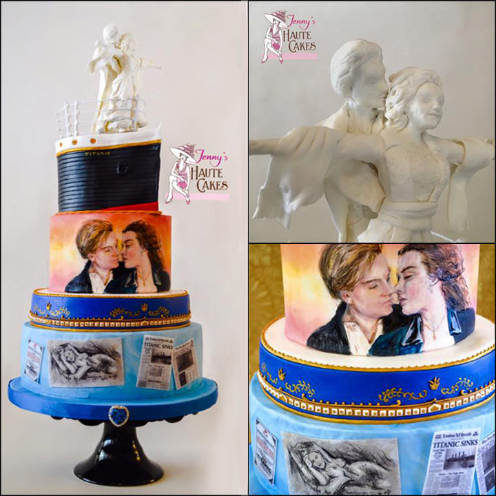 Unique Wedding Cakes - The Titanic Cake