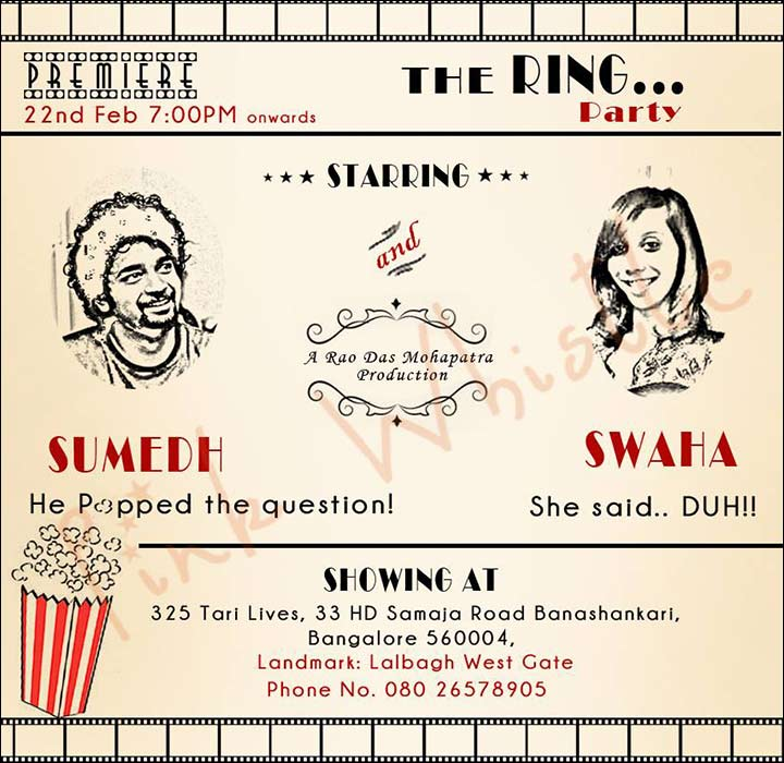 Funny wedding invitation ideas 17 invites thatll leave the guests its showtime filmwisefo