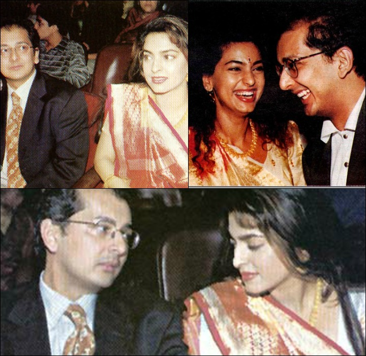 Juhi Chawla And Jay Mehta In The Initial Years After Their Marriage