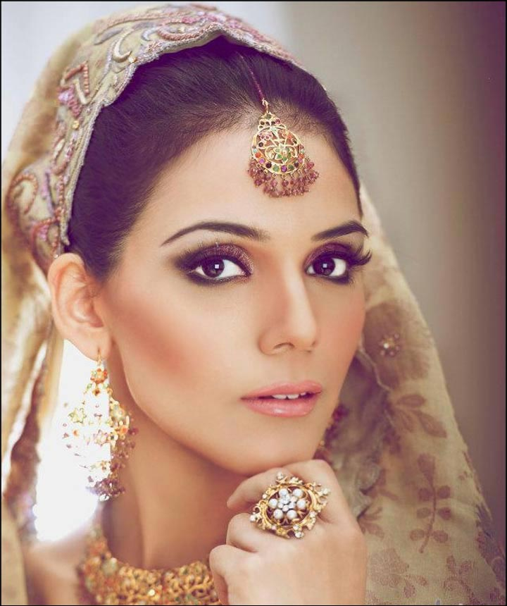 Light Autumn Bridal Eye Makeup