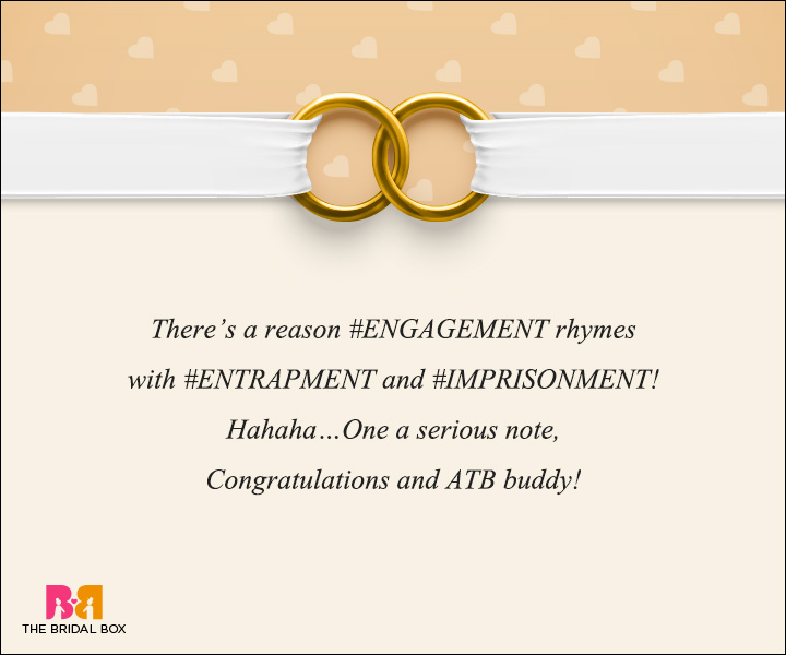 Engagement Wishes - Of Engagements And Rhyming Words
