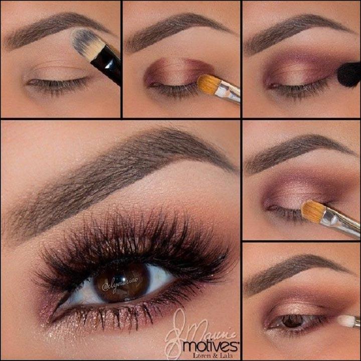Как сделать правильно макияж для раскосых глаз