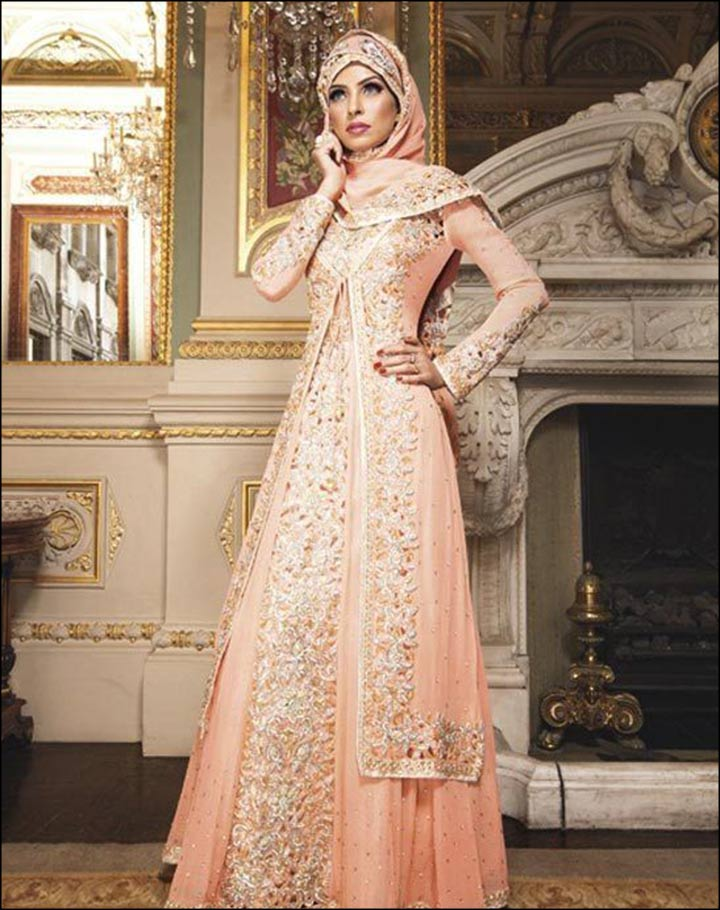 Muslim Wedding Dresses For Bride In : Gorgeous muslim bridal dresses for the bride