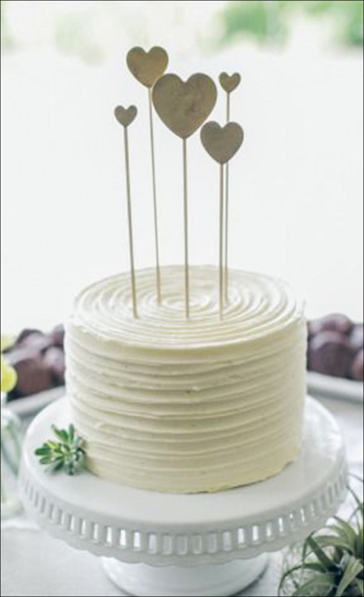 Simple Wedding Cakes - The Textured Layer Cake