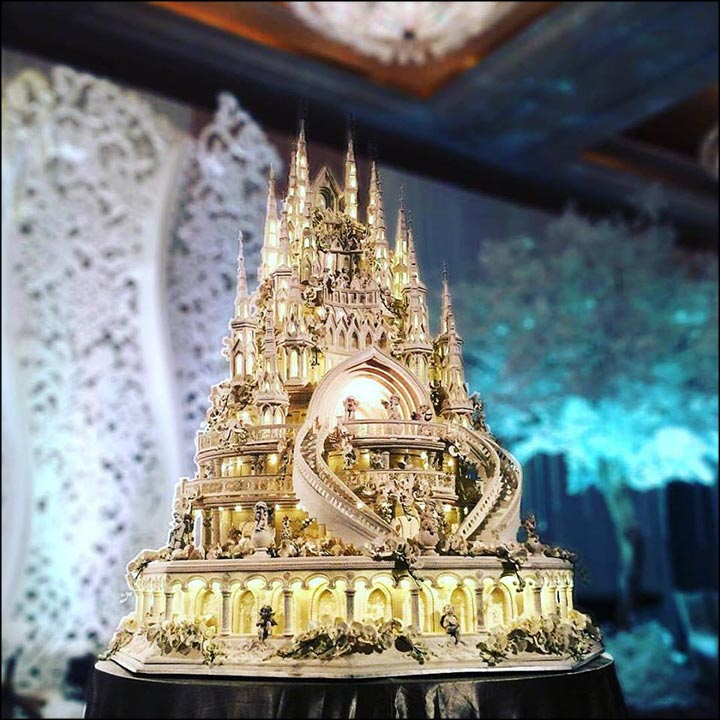 Unique Wedding Cakes - The Castle Of Dreams Cake