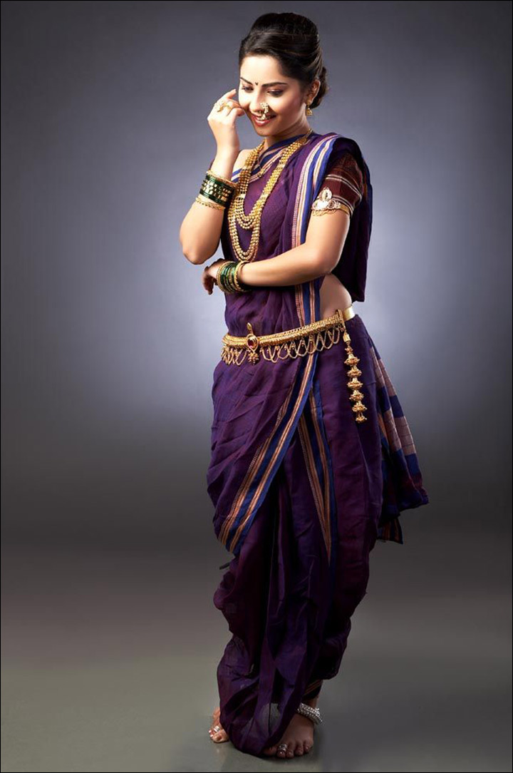 Wear-Maharashtrian-brida-Saree