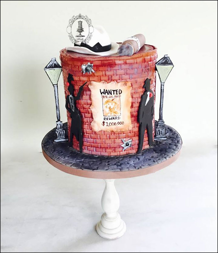 Unique Wedding Cakes - The Wanted List Cake