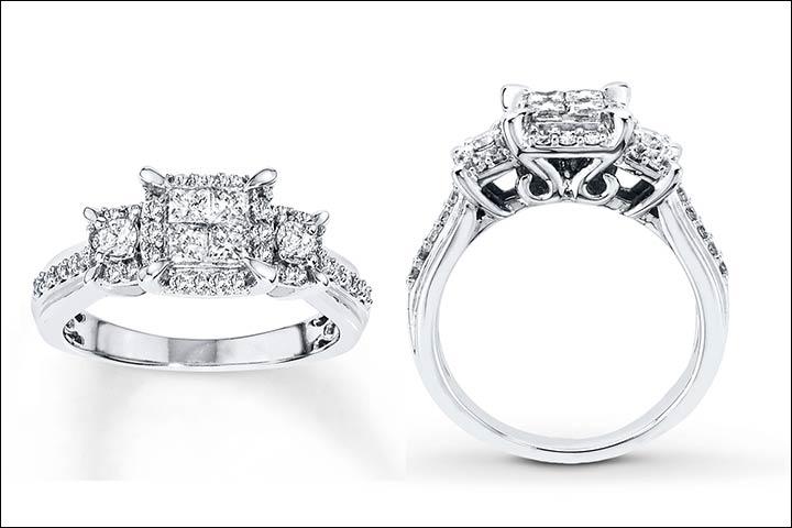 10 Most Popular Princess Cut Engagement Rings