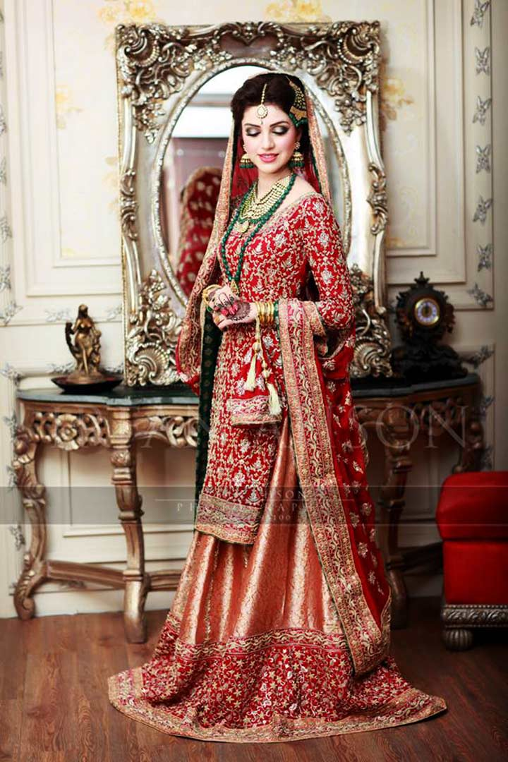 pakistan bridal dress for wedding