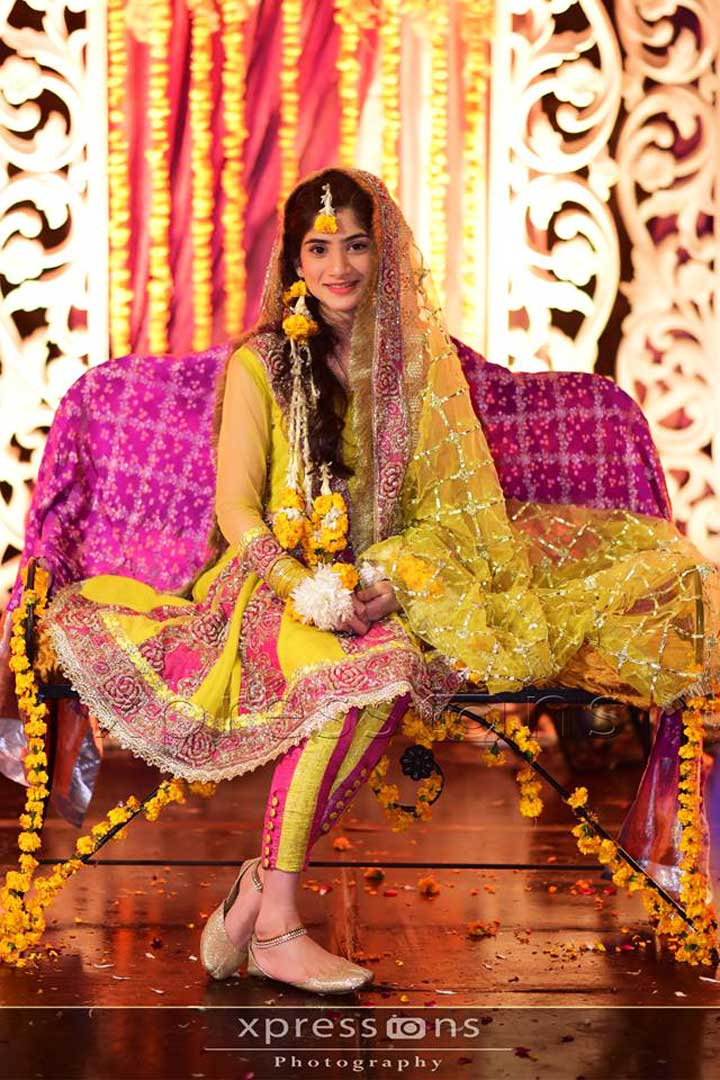 pakistan bridal dress mayoon