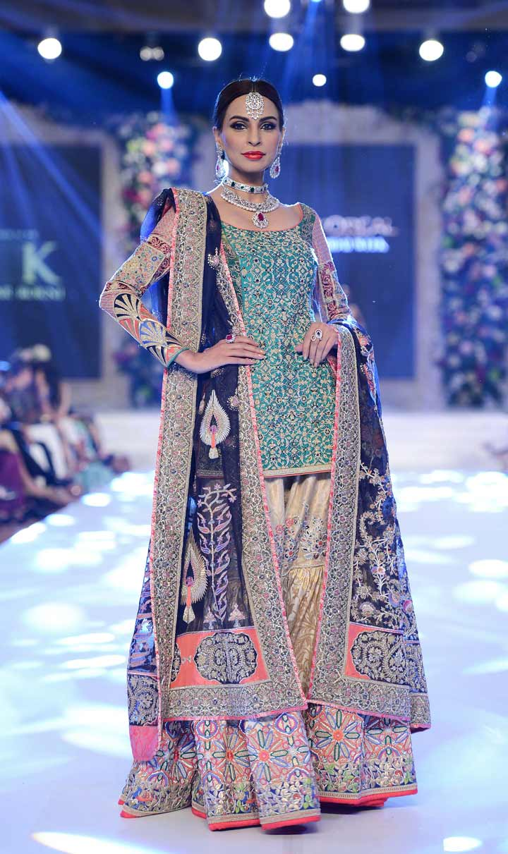 pakistani-bridal dress-beautiful Gharara