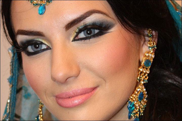 Арабский сделать макияж как у