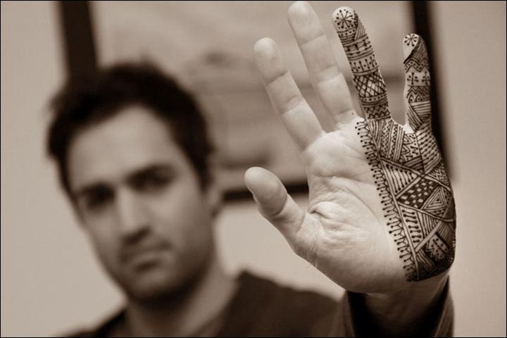 Mehndi Patterns For Men : Mehndi designs for men don t miss the cool and artistic
