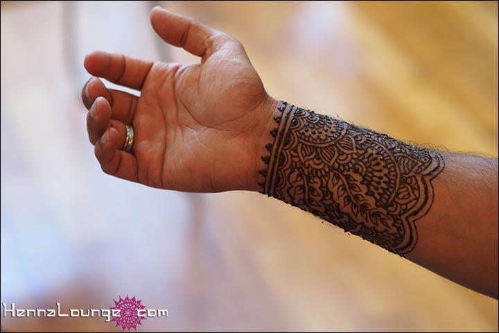 Arabic Mehndi Design For Men