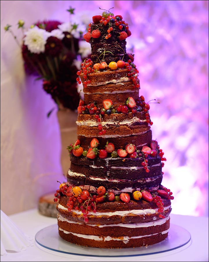 Chocolate Goodness wedding cake