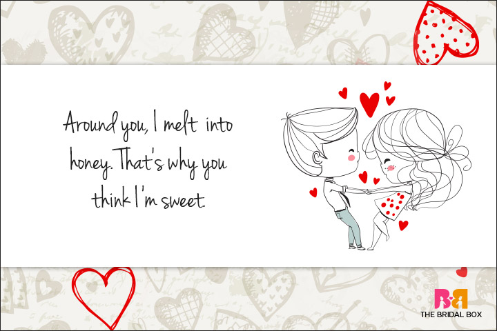 Cute Love Quotes For Her - Melting Honey