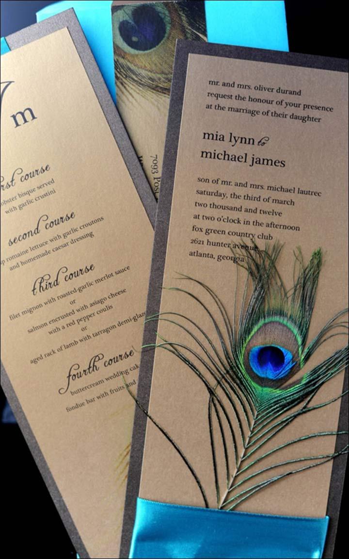 Elegant-pecock-wedding-invitations