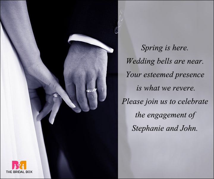 Ring Words For Ceremony