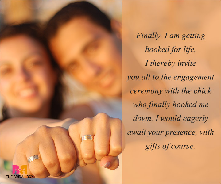 Engagement Invitation Wording   Finally  Engagement Invitation Matter