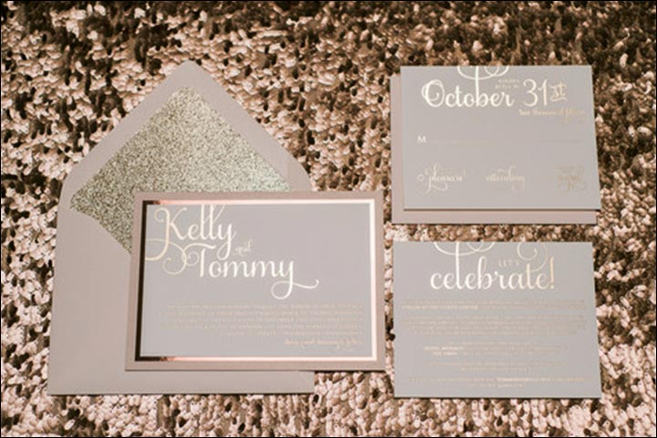 Blue And Gold Wedding Invitations was perfect invitation example
