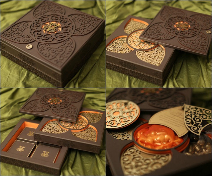 Fancy Wedding Invitation Cards-The Spice Box